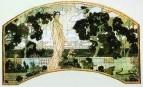 Клеопатра. Эскиз декоративного майликового панно для гостиницы Метрополь в Москве. 1898