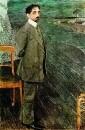 Портрет поэта и композитора Михаила Александровича Кузмина. 1910