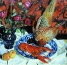 Натюрморт. Омар и фазан. 1912