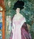 Портрет А.Д.Романовой. 1908