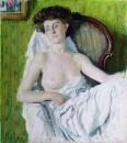 Портрет дамы. Модель. 1908