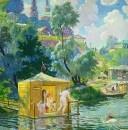 Купанье. 1921