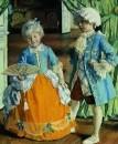 Дети в маскарадных костюмах. 1909
