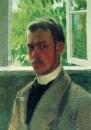 Автопортрет у окна. 1899