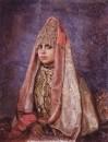Боярышня (Портрет В.С.Мамонтовой). 1884