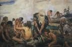 Каменный век. Деталь фриза1. 1882-1885