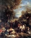 Hunting Picnic. 1723 г.