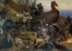 Похороны знатного руса. 1883