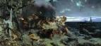Оргия времен Тиберия на острове. Капри. 1881