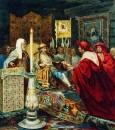 Александр Невский принимает папских легатов