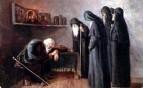 Иван Грозный в монастыре