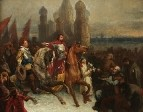 Въезд Шуйского и де Ла Гарди в Москву