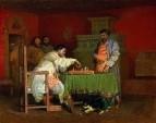 «Сцена из домашней жизни русских царей (Игра в шахматы)» 1865