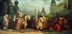 «Вербное воскресенье в Москве во времена царя Алексея Михайловича» 1865