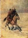 «Гонец XVI века» 1868.