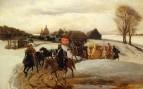 «Вешний поезд царицы на богомолье при царе Алексее Михайловиче» 1868.