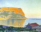 Cassis, Cap Canaille, 1889