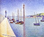 Portrieux, the Masts, 1888