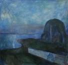 Звездная ночь - 1893, Музей Поля Гетти