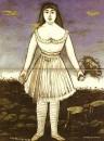 Актриса Маргарита. 1909 Клеенка, масло. 117x94 ГМИ Грузии, Тбилиси