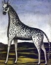 Жираф. Ок.1905 Клеенка, масло. 139х111 ГМИИ, Тбилиси