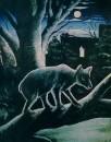 Медведь в лунном свете. 1914 Клеенка, масло. 100x80 ГМИ Грузии, Тбилиси