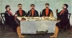 Кутеж пяти князей. 1906. Клеенка, масло. ГМИ Грузии, Тбилиси