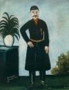 Портрет Александра Гаранова. 1906. Клеенка, масло. 109x90 ГМИ Грузии, Тбилиси