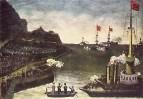 Русско-японская война. 1906. Клеенка, масло. ЧС