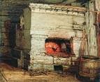 Крестьянская изба. 1869