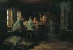 Бедный ужин. 1879