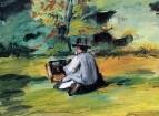 Художник за работой 1874-1875