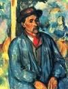 Крестьянин в голубой блузе 1897