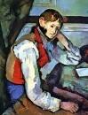 Мальчик в красном жилете 1890-1895