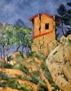 Дом с трещинами в стенах 1892-1894