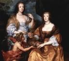 Portrat-der-Ladies-Elisabeth-Thimbleby-und-Dorothy-Viscountess-Andover
