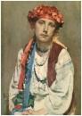 Портрет дочери художника Т. В. Савинской_1922