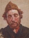 Голова рыжего мужчины