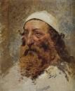 Голова еврея. 1884