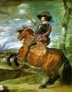 The Count Duke_of_Olivares on Horseback