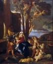 Отдых на пути в Египет (ок.1627) (76.2 х 63.5) (Нью-Йорк, Метрополитен)