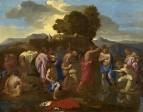 Крещение Христово (1641-1642) (95.5 х 121) (Вашингтон, Нац. галерея).