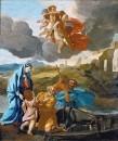 Возвращение святого семейства из Египта (ок.1628-1638) (117.8 х 99.4) (Лондон, картинная галерея Дал
