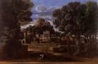 Пейзаж с вдовой Фокиона, собирающей его пепел (1648) (116.5 х 178.5) (Ливерпуль, Музей Уолкера)