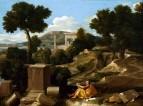 Пейзаж со св.Иоанном Богословом на Патмосе (1640)