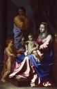 Святое семейство с юным Иоанном Крестителем (1655)