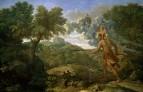 Пейзаж со слепым Орионом ищущим Восходящее Солнце (1658)