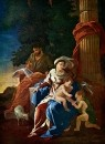 Святое семейство с юным Иоанном Крестителем (ок.1629) (101 х 75)