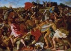 Битва израильтян с амалекитянами (Победа Иисуса Навина) (1624-1625)