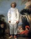 Пьеро (Жиль) (ок.1718-1719) (185 х 150) (Париж, Лувр)